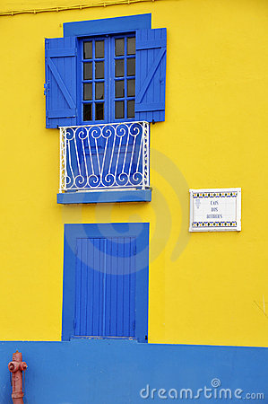 Colorful house in Aveiro