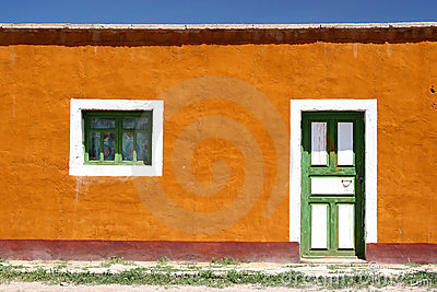 Colorful House Front