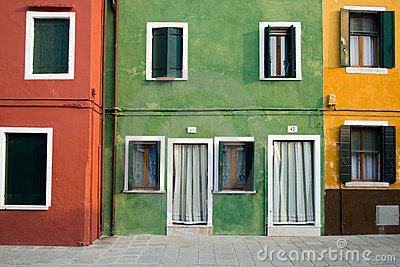 Colorful Houses Venice (Veneto)