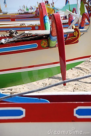 Colorful Indonesian Boats Royalty Free Stock Photos - Image: 18230728