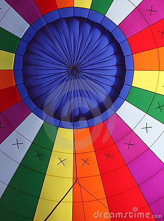 Free Colorful Interior Of A Hot Air Balloon Stock Images - 7818354