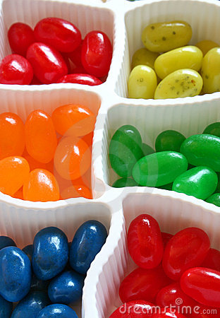 Free Colorful Jelly Beans Stock Image - 757461