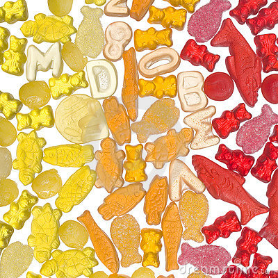 Colorful jelly candy Editorial Stock Photo