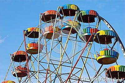 Colorful joy-wheel