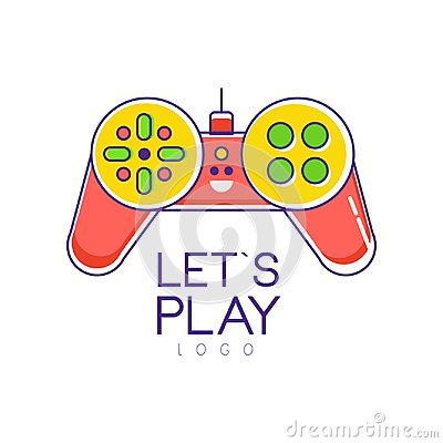 Free Colorful Joystick Logo. Gamepad. Creative Vector Design For Games Store Or Developers Company. Entertainment Concept Royalty Free Stock Images - 108355949