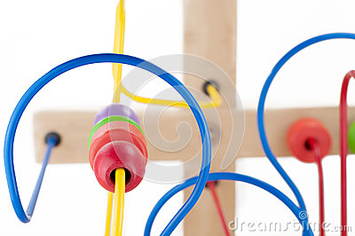 Colorful kids toy Stock Photo