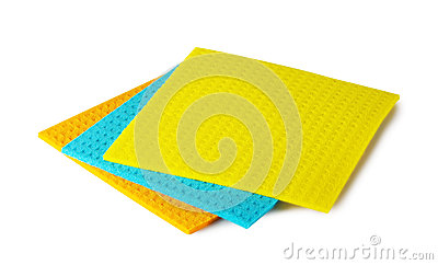 Colorful kitchen rags