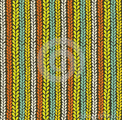 Colorful knitted background.