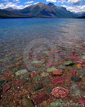 Colorful Lake Rocks