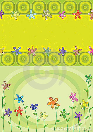 Colorful Layers Flower Blowing_eps