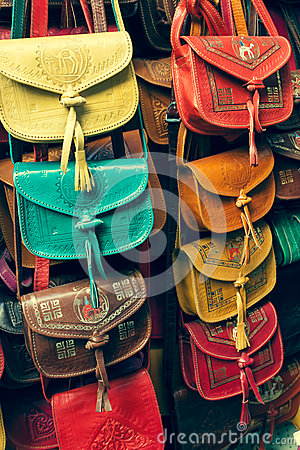 Colorful Leather Handbags | Luggage And Suitcases