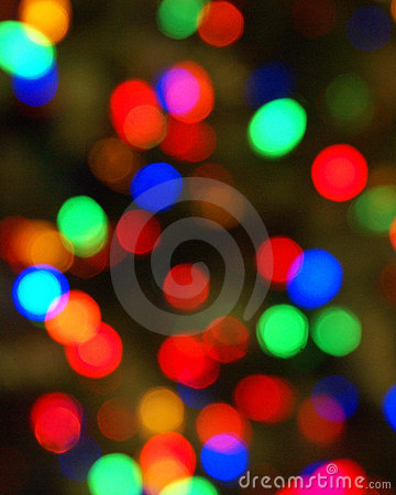 Colorful Lights Blurred