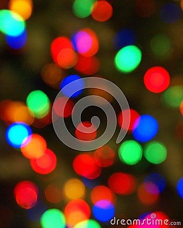 Colorful Lights Blurred