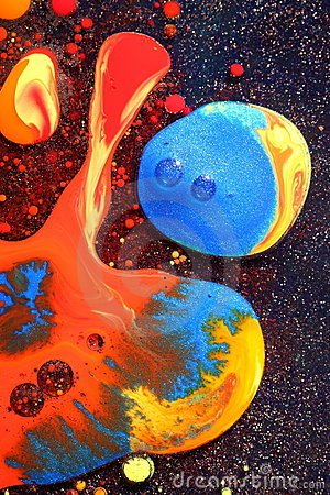 Colorful Liquid Paints