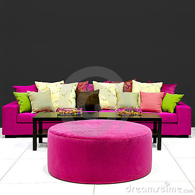 Free Colorful Living Room Stock Images - 14818144