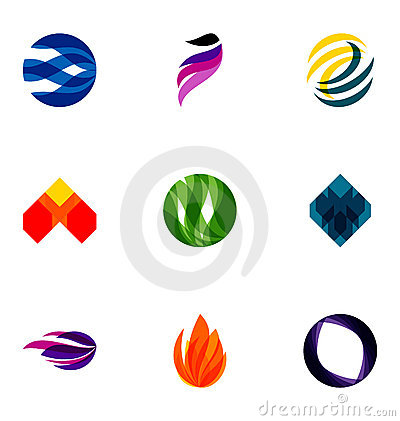 Colorful logos
