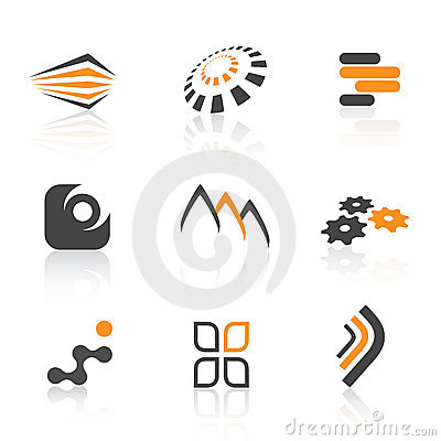 Free Colorful Logos Royalty Free Stock Photography - 5387847