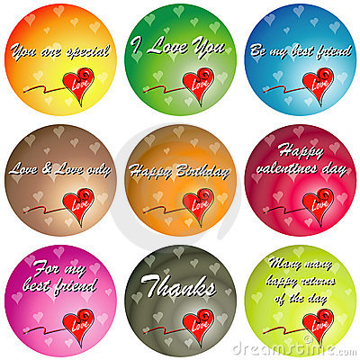 Picture  Quotes on Stock Images  Colorful Love With Quotes  Image  5321604