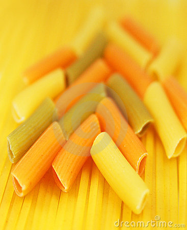 Free Colorful Macaroni And Spaghetti Royalty Free Stock Photo - 9532495