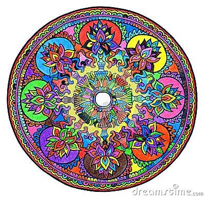 Free Colorful Mandala Stock Photography - 60632942