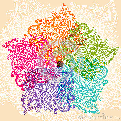 Colorful mandala Vector Illustration