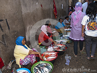 Colorful market in Bali Indonesia Editorial Photo