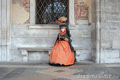 Colorful mask in venice