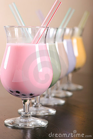 Colorful Milkshake