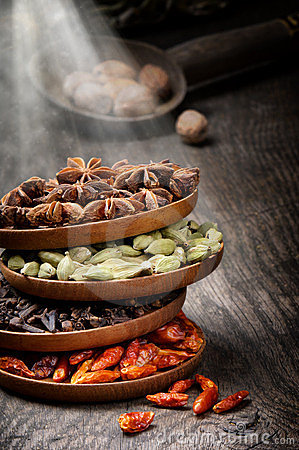 Free Colorful Mix Of Spices Stock Photos - 23579283