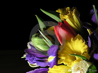Colorful mixed bouquet 1