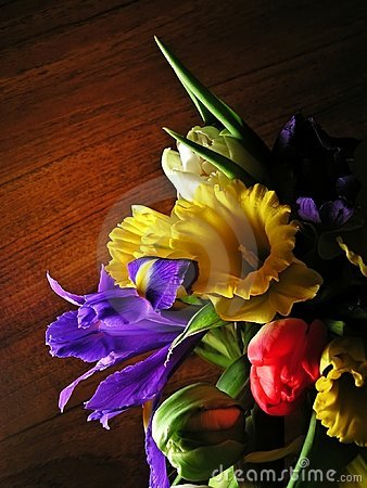 Free Colorful Mixed Bouquet 2 Stock Photography - 579772