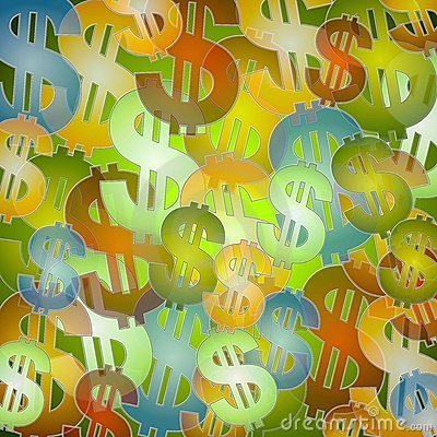 Free Colorful Money Background Stock Photo - 3274080