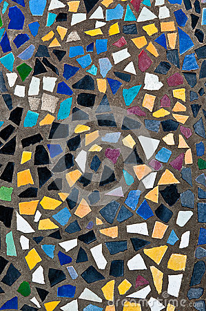 The Colorful of mosaic