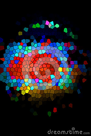 Colorful mosaic 1 stock photo image 51299997 for Bright vibrant colors