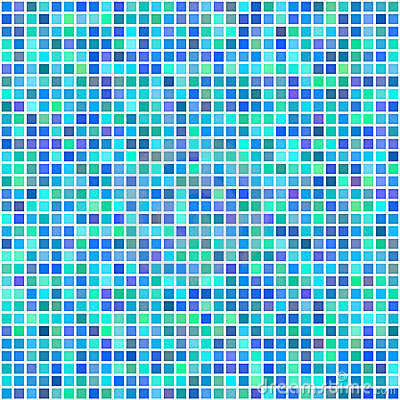 Colorful multi color seamless square tiles