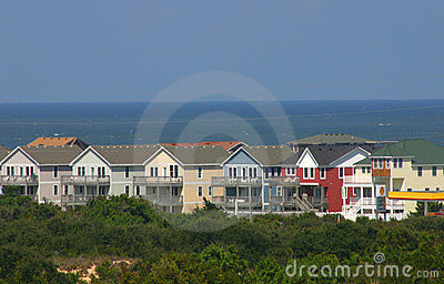 Colorful New Beach Homes