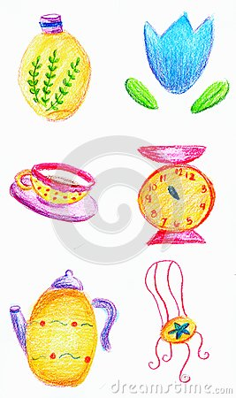 Colorful objects