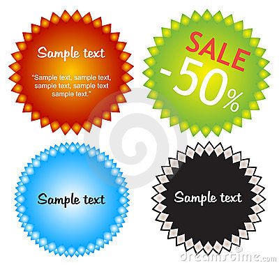 Colorful offers stickers.