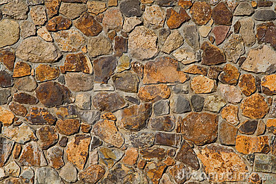 Colorful old stone wall texture