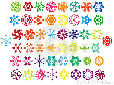 Colorful Ornaments Collection