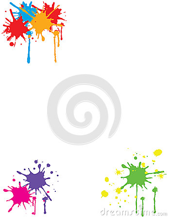 Free Colorful Paint Splatter Stock Images - 31651474