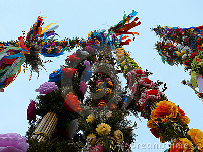 Colorful palms - Polish Easter tradition