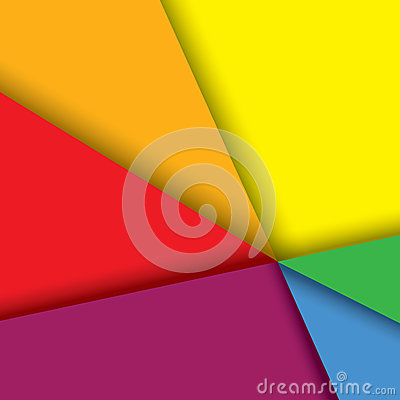 Free Colorful Paper Background With Lines & Shadows - V Royalty Free Stock Photos - 36804308