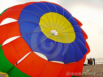 Colorful Parachute Background