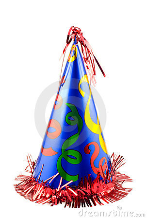 Free Colorful Party Hat Royalty Free Stock Images - 10707189