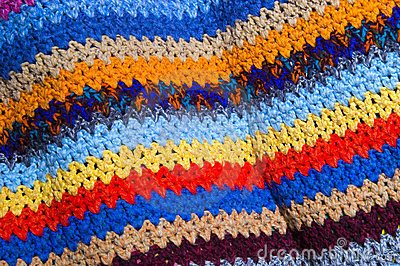 Colorful pattern cloth