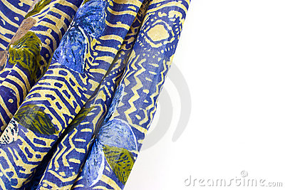 Colorful patterned fabric