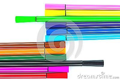 Colorful pen
