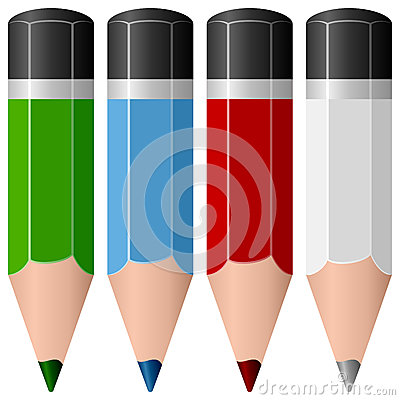 Free Colorful Pencils Collection Stock Image - 30615381