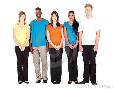 Colorful people diversity